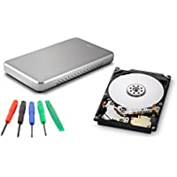 OWC Express USB 2.0 2.5 Enclosure + 640GB HGST 5400RPM HDD DIY KIT Model OWCY0J15372