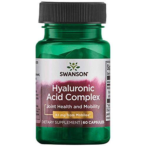Complex Joint Ultra (Swanson High Potency Hyal-Joint Hyaluronic Acid Complex 83 Milligrams 60 Capsules)