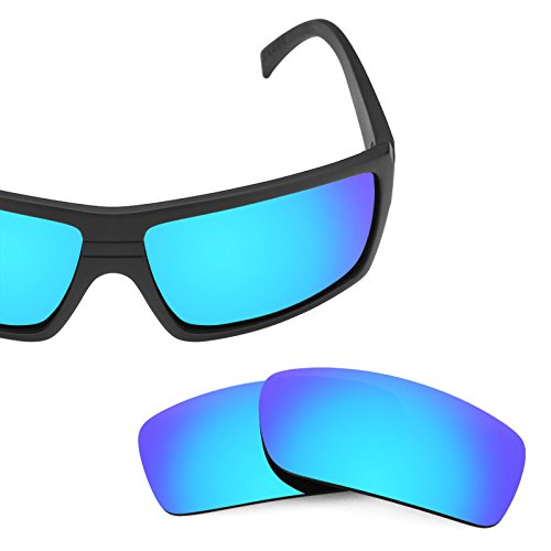 49531f60ea3 Revant Polarized Replacement Lenses for Von Zipper Snark Ice Blue  MirrorShield®