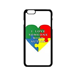 Run horse store - Just for You, I Love Someone With Autism picture for black plastic iphone 6 case (4.7 inch)