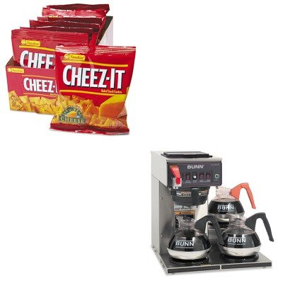 KITBUNCWTF153LPKEB12233 - Value Kit - Bunn Coffee Commercially Rated Automatic Brewer (BUNCWTF153LP) and Kelloggs Cheez-It Crackers (KEB12233)