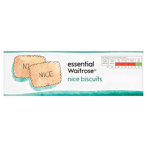 Nice Biscuits essential Waitrose 250g (Pack of -