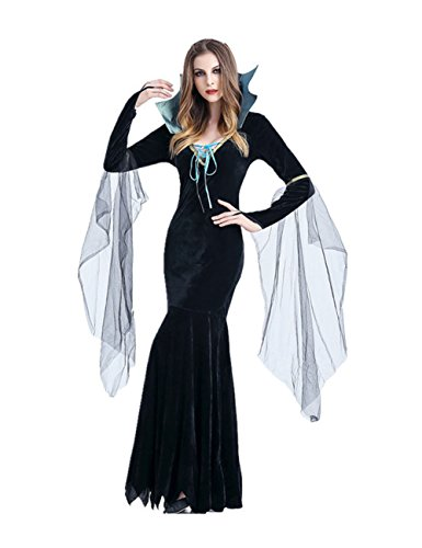 Uleade Halloween Adult Female Vampire Costume Queen Greek