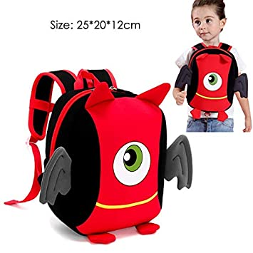 Best Quality - Neoprene School Backpack - Cute Penguin Girls School Bags for Kids Children School