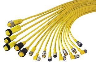 BANNER ENGINEERING MQDC-406RA QUICK DISCONNECT CABLE, M12, 4POS, - Engineering Banner