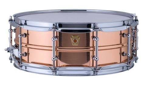 Ludwig Copper Phonic Smooth Snare Drum 14 x 5 in. Smooth Finish with Tube Lugs by Ludwig