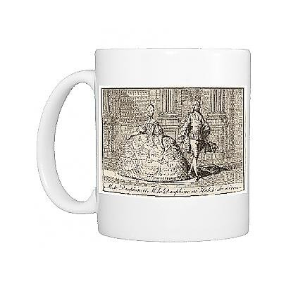 Marie Antoinette Outfits (Photo Mug of Louis XVI and Marie Antoinette in wedding costumes)