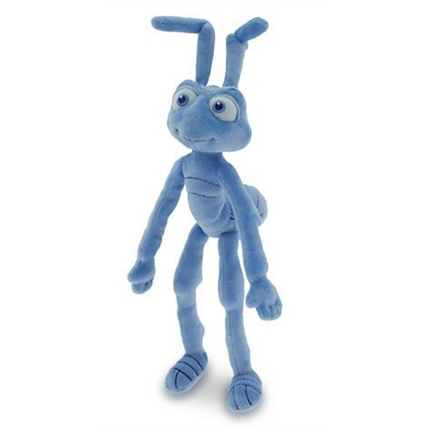 Flik Plush - Mini Bean Bag - A Bug's Life - 10'' by A Bug's Life