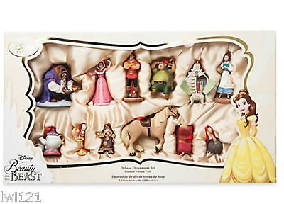 Disney Beauty and the Beast 12 piece Limited Edition Ornament set
