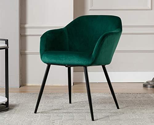 Chairus Modern Velvet Accent Chair