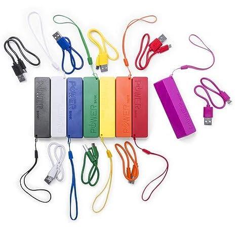Power Bank Diseño 2000 mAh en Caja de Regalo con Cable USB - Cargador Ideal para Recuerdos, Regalos de Bodas, Bautizos, Comuniones, Comprar Online: ...