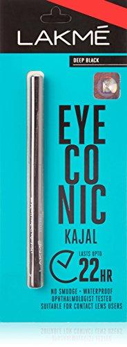 Lakme Eyeconic Kajal Black (0.35 g) - Set of 2 by Lakme