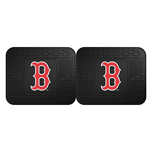 FANMATS 12310 MLB - Boston Red Sox Utility Mat - 2 Piece