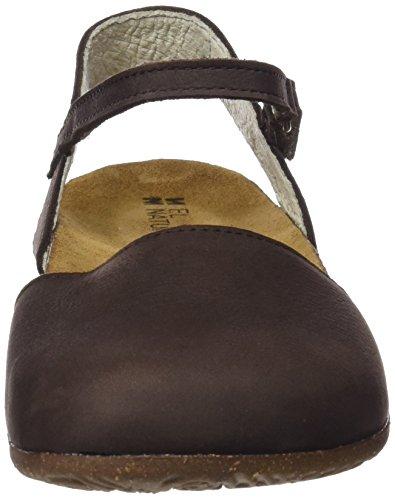 Closed N412 Sandals Naturalista El Women's Brown Toe twEzF6qxa