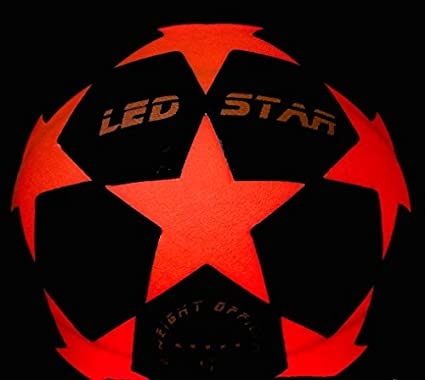 pelota de futbol con luz NIGHT KICK LED STAR - el regalo de final ...