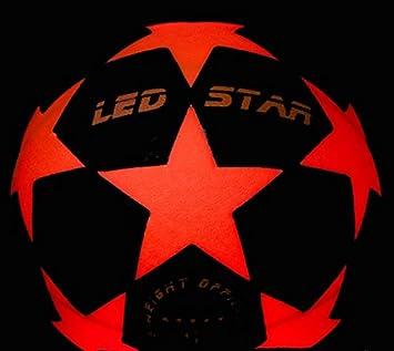 pelota de futbol con luz NIGHT KICK LED STAR - el regalo de final ...