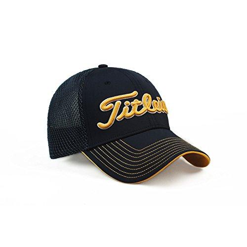 Titleist Men's Golf Cap (Two-Tone Mesh) (Free, Two-Tone Mesh, - Titleist Stitch Contrast