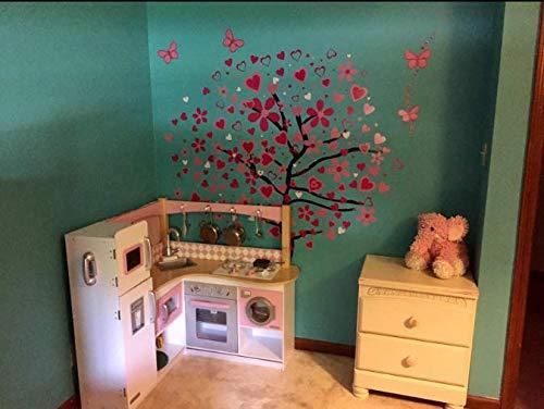 Decorazioni Murali Camera Da Letto : Adesivi murali love sticker frase amore decorazioni murali per