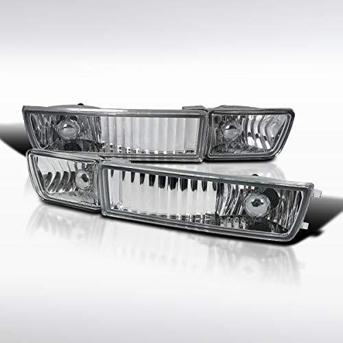 Autozensation For Volkswagen MK3 Golf Jetta Cabrio Clear Lens Bumper Driving Fog Lights