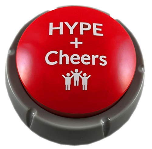 Air Horn Can Sound Effect with Applause and Cheers Noise Button Buzzer for Office Soccer Party Gag Gift DJ HYPE]()
