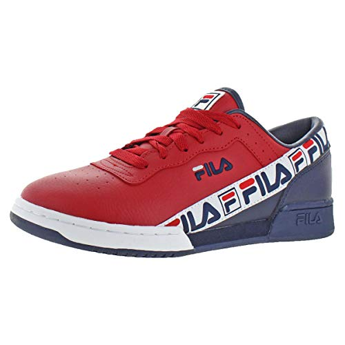 Fila Mens Original Fitness Tape Breathable Fashion Sneakers Red 13 Medium (D)