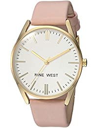 Women's NW/1994WTPK Gold-Tone and Pastel Pink Strap Watch