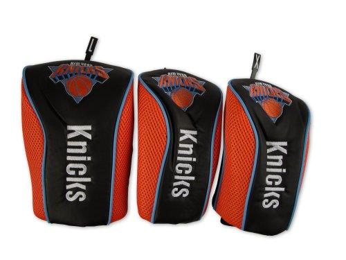 Mesh Headcover - WinCraft NBA New York Knicks 3 Pack Mesh Longneck Headcover Set