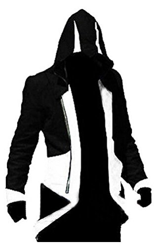 Assassins Creed 3 Conner Kenway HoodieCoatJacket Cosplay Costume
