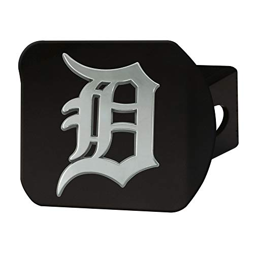 - FANMATS MLB - Detroit Tigers Hitch Cover - Black
