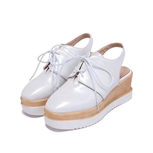 5 36 EU BalaMasa Femme Sandales Blanc ASL05561 Blanc Compensées 4UnxqACg0w