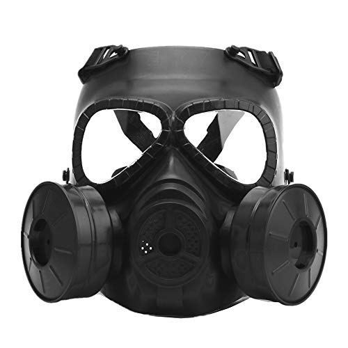 (AFfeco M04 Airsoft Tactical Protective Mask,Gas Mask With Adjustable Strap for BB Gun CS Cosplay Costume Halloween)