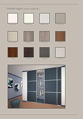 Puerta corredera exterior de pared de hasta 300 cm de largo y hasta 268 cm de alto.: Amazon.es: Bricolaje y herramientas
