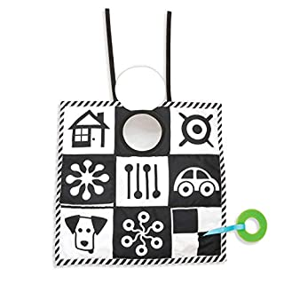 Manhattan Toy Wimmer-Ferguson Double Sided 3-in-1 Triangle Play and Pat Activity Mat