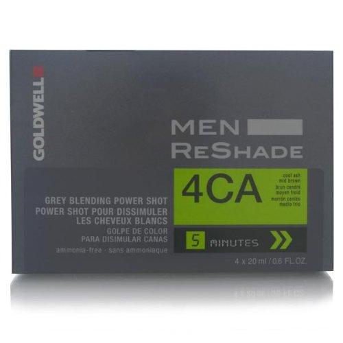 Goldwell for Men ReShade Grey Blending Power Shot 4CA Cool Ash Mid Brown