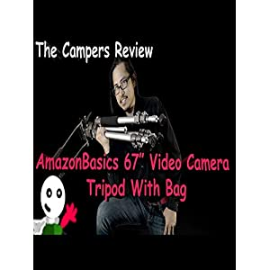 Amazon Basics 67-Inch Video Camera Tripod with Bag - The Campers Review