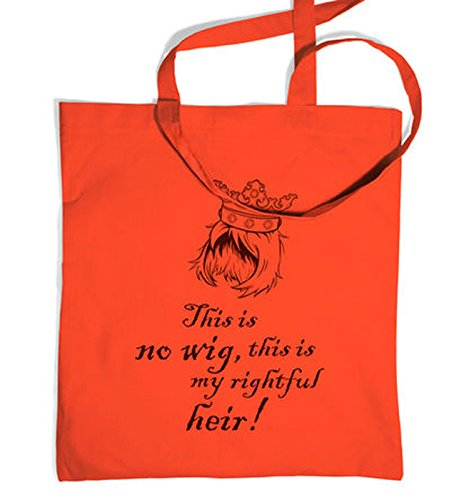 Stannis Costume (This Is No Wig Tote Bag - Coral One Size Tote Bag)