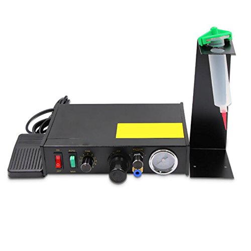 Glue Dispenser Machine Vinmax Solder Paste Liquid Dispensing Machine Semi-Automatic/Manual Operations ()