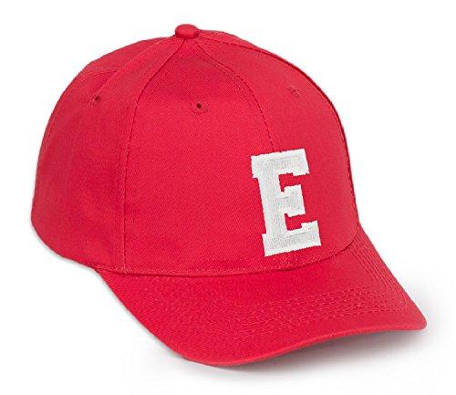Z rojo Gorra letras letra en con E negro de béisbol color A qFtOxrwvqZ