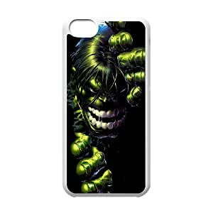 DIY iPhone 5C phone case With Hulk Pattern , Perfectly Fit Your Smartphone