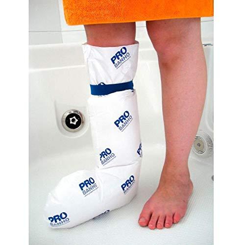 Protetor de Gesso para Banho Ortopédico Meia Perna Infantil Bioflorence