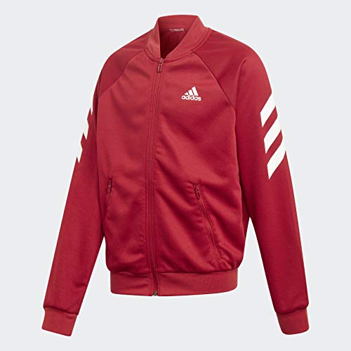 adidas XFG Track Suit Kids', Burgundy, Size L by adidas