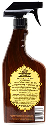 Goddard's Cabinet Makers Fine Wax Spray-for Wood Furniture-16 oz, 16-Ounce