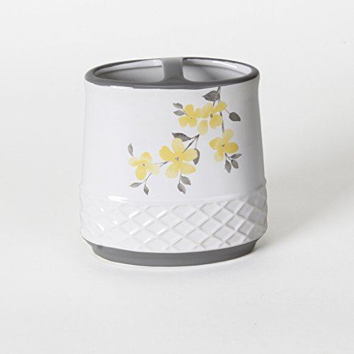 Saturday Knight P0753900220004 Spring Garden Toothbrush Holder, Yellow from Saturday Knight