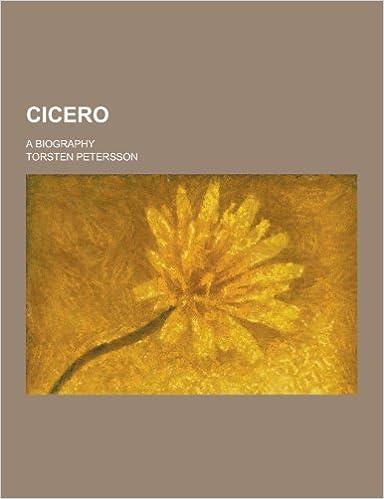 Book Cicero: A Biography