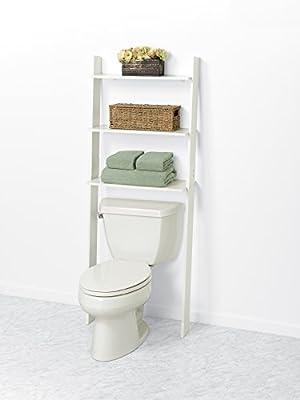 ZPC Zenith Products Corporation Zenna Home 9431CH, Wood Ladder Bathroom Spacesaver, Espresso