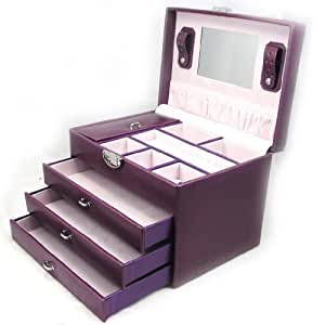 jewellery box 39 la somptueuse 39 purple jewelry