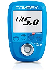 Compex Wireless Fit 5.0 Electroestimulador, Unisex, Azul
