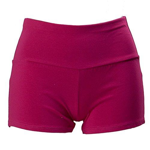 Fuxia Hot Shorts Donna Cc Sport Toocool Nuovi Pant Pantaloncini Fitness Elastici Palestra 1436 Ewgqpx70pn
