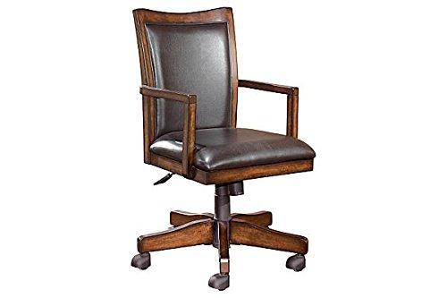 Ashley Furniture Signature Design - Hamlyn Swivel Office Des