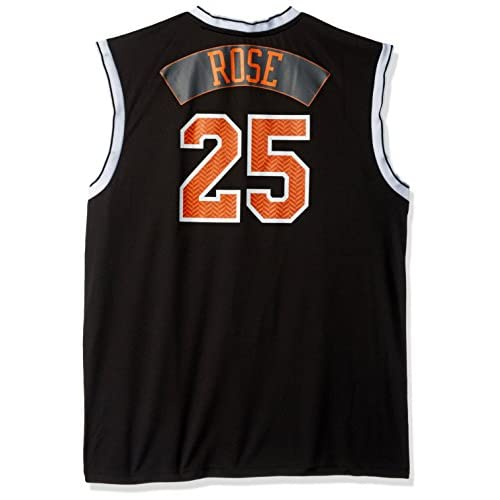 finest selection cc327 7151f NBA New York Knicks Derrick Rose #25 Chevron Fashion Replica ...